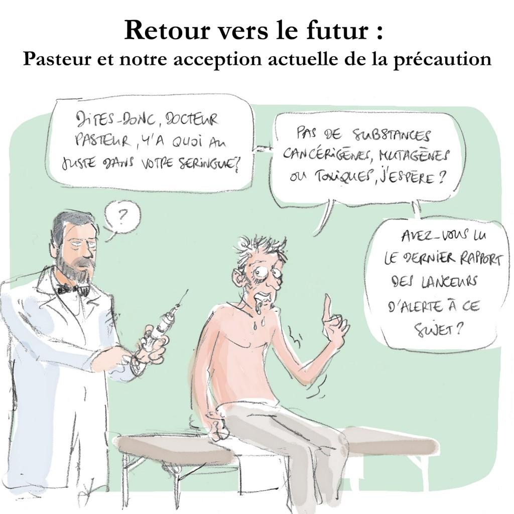 Illustration article sur Pasteur