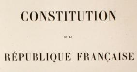 Image constitution pour illustrer article réforme constit